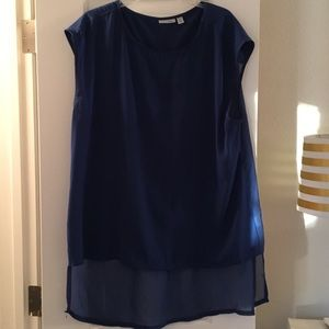 Blue Sleeveless Top from Halogen